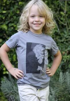 Brian & Baylee Modeling Vintage Leighanne Shirts Baylee
