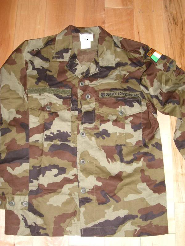 2010 Pattern Irish Army Field dress. 2010PtnIP-DPMShirt