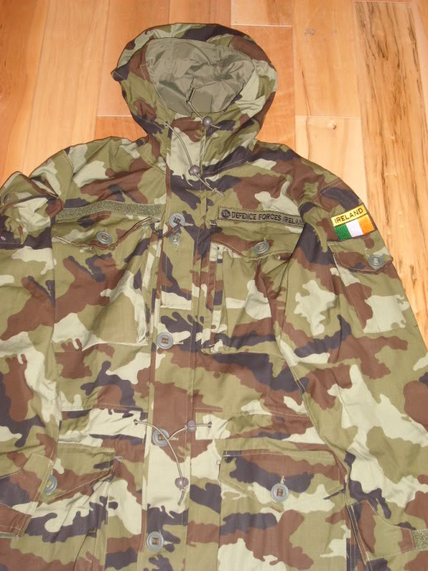 2010 Pattern Irish Army Field dress. 2010PtnIrishDFSmock