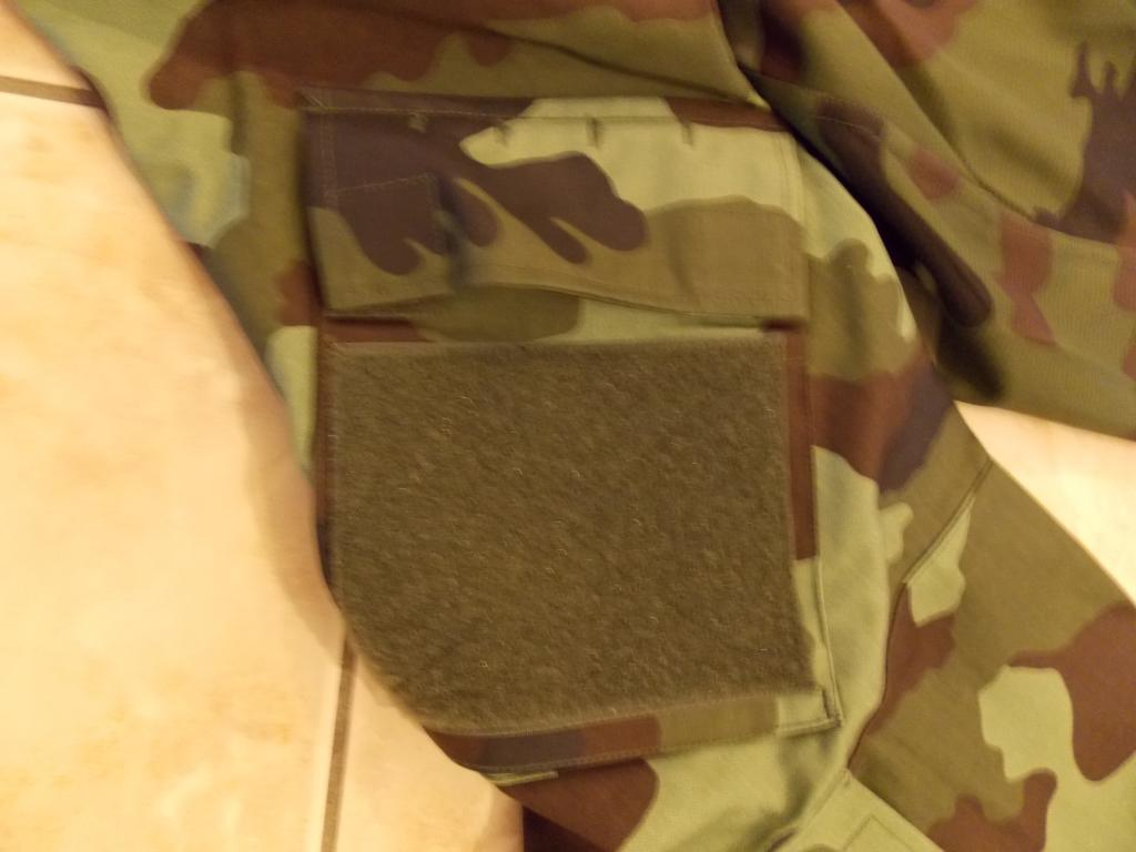 2010 Pattern Irish Army Field dress. Blankingplateremoved