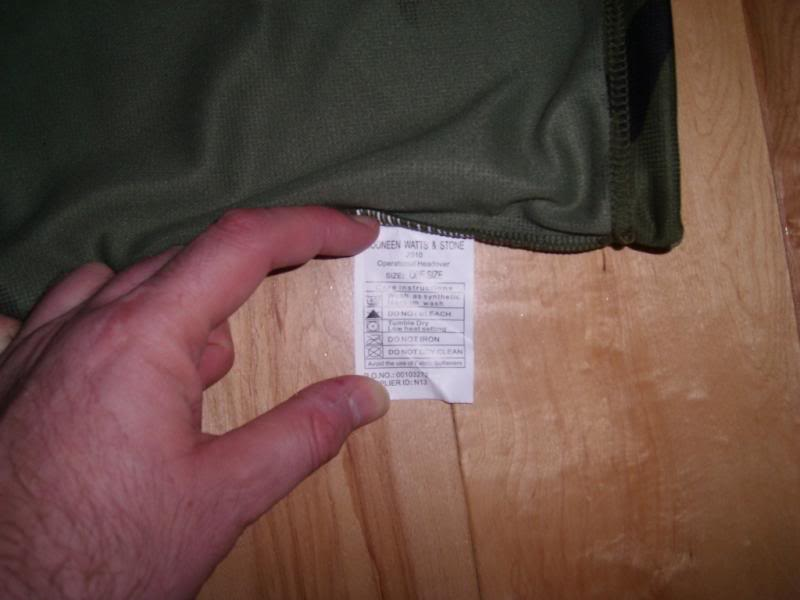 2010 Pattern Irish Army Field dress. Headovercarelabel_zps000da52a