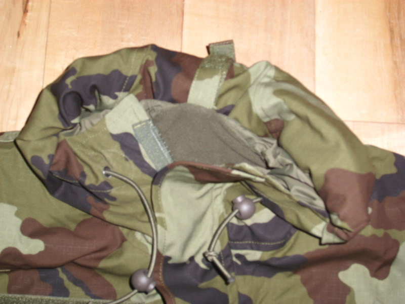 2010 Pattern Irish Army Field dress. Hoodrolled