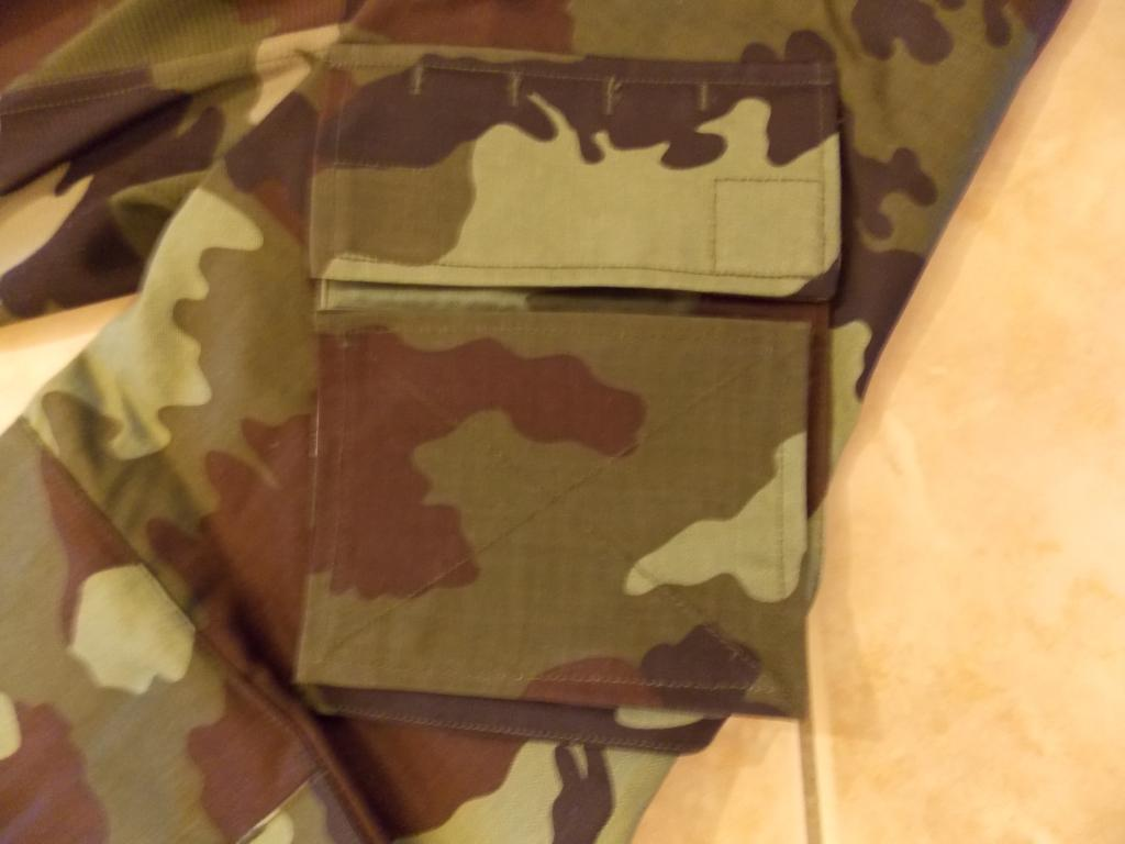 2010 Pattern Irish Army Field dress. Sleevepocketwithblankingplate
