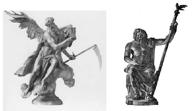 Zeus' symbols and Albanian_Epirotes KronosandZeus