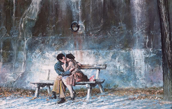 Slika, koja mi se danas svidela; Lovers_on_the_seine