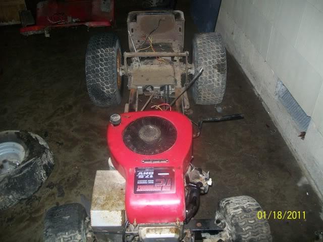 01 murray hydrostatic drive trail/rockcrawler