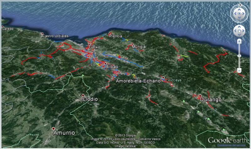Red de Caminos Ciclables en Bizkaia 2-3
