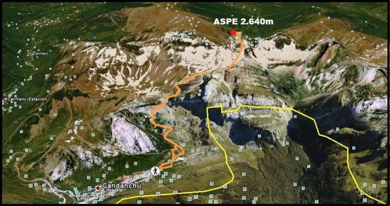 Pico aspe 2.640m. desde Candanchu DSC01781