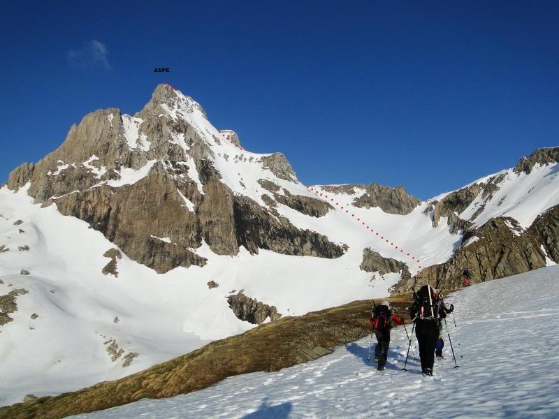 Pico aspe 2.640m. desde Candanchu DSC01813