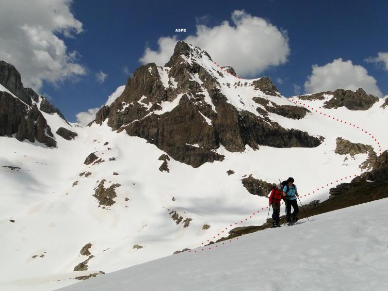 Pico aspe 2.640m. desde Candanchu DSC01895