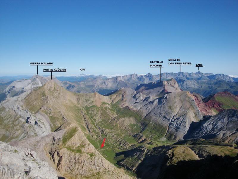 Ascensión al Bisaurin 2.670m. y Punta Agüerri 2.447m. desde Gabarnito BISAURIN050