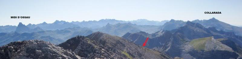Ascensión al Bisaurin 2.670m. y Punta Agüerri 2.447m. desde Gabarnito BISAURIN065-1