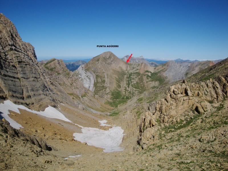 Ascensión al Bisaurin 2.670m. y Punta Agüerri 2.447m. desde Gabarnito BISAURIN084-1