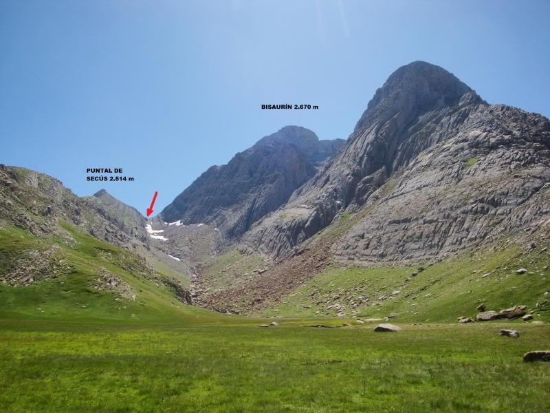 Ascensión al Bisaurin 2.670m. y Punta Agüerri 2.447m. desde Gabarnito BISAURIN103-1