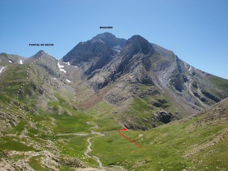 Ascensión al Bisaurin 2.670m. y Punta Agüerri 2.447m. desde Gabarnito BISAURIN108-1