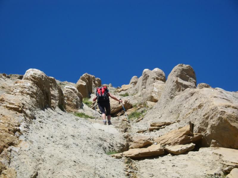 Ascensión al Bisaurin 2.670m. y Punta Agüerri 2.447m. desde Gabarnito BISAURIN117