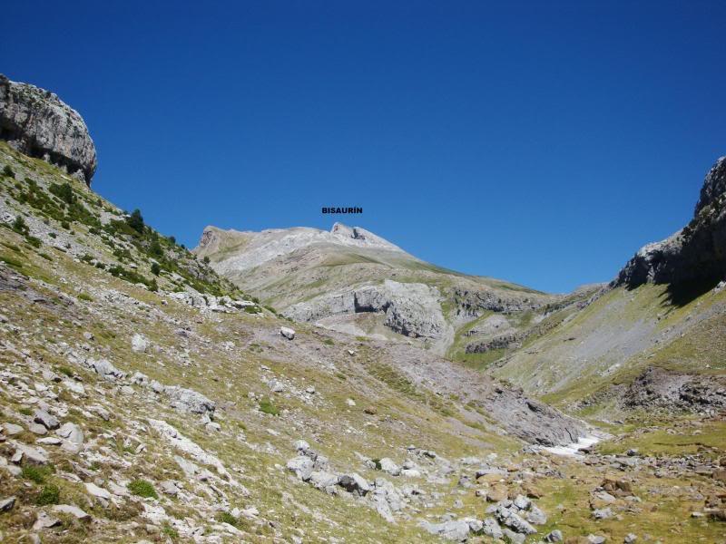 Ascensión al Bisaurin 2.670m. y Punta Agüerri 2.447m. desde Gabarnito BISAURIN181-1