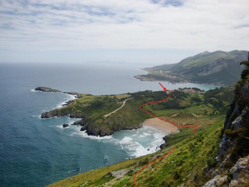 Monte Candina 489m. y Salpico 486m. desde Sonabia CANDINA038