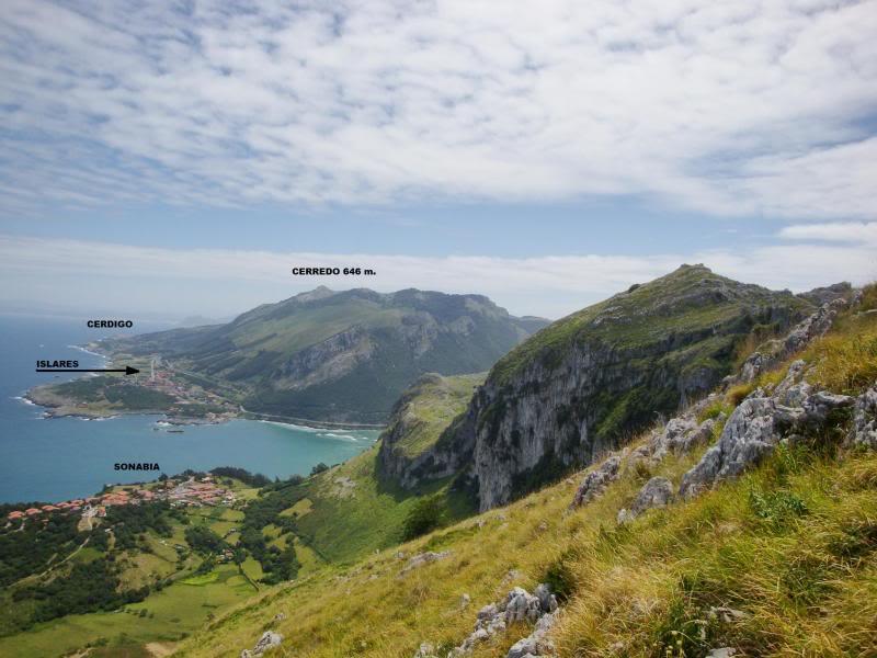 Monte Candina 489m. y Salpico 486m. desde Sonabia CANDINA048