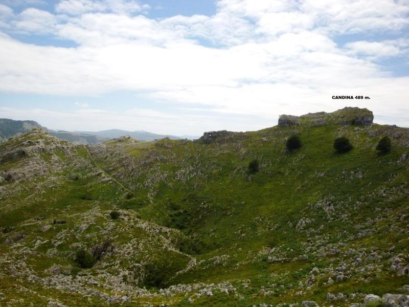 Monte Candina 489m. y Salpico 486m. desde Sonabia CANDINA065