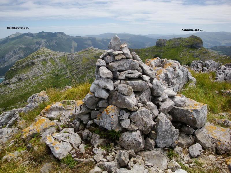 Monte Candina 489m. y Salpico 486m. desde Sonabia CANDINA075