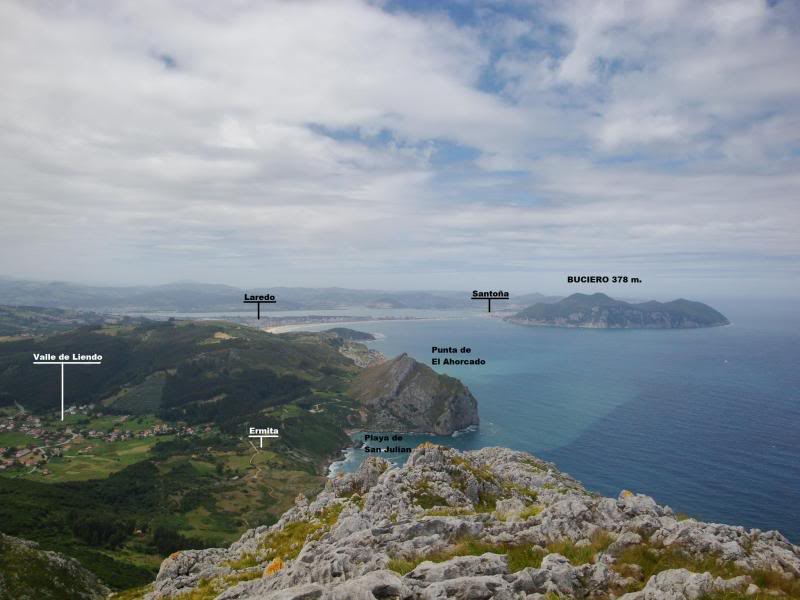 Monte Candina 489m. y Salpico 486m. desde Sonabia CANDINA079-1