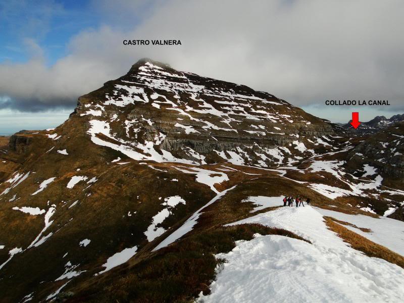 Castro Valnera 1.718m. Peña Negra 1.509m. y Cubada Grande 1.605m. DSC06992