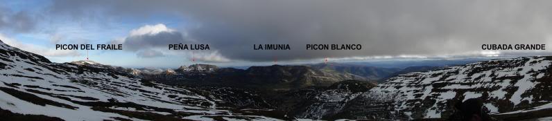 Castro Valnera 1.718m. Peña Negra 1.509m. y Cubada Grande 1.605m. DSC07038