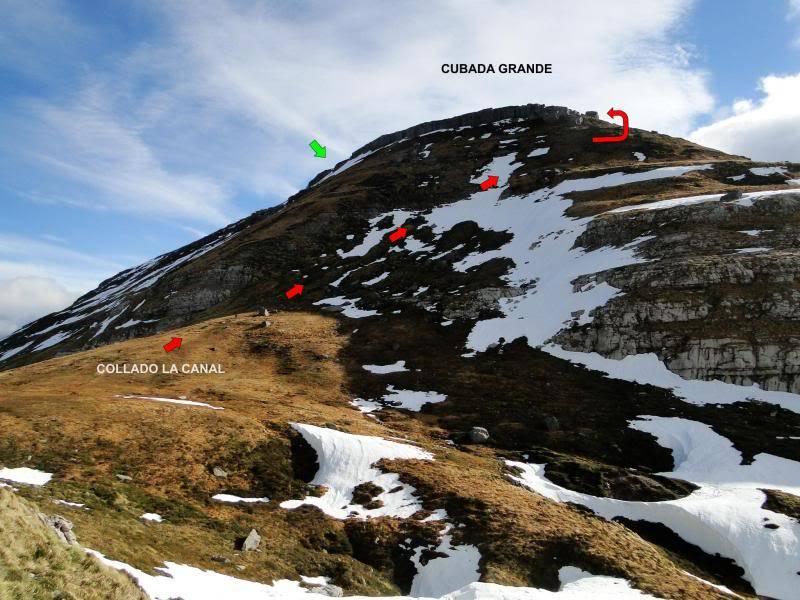Castro Valnera 1.718m. Peña Negra 1.509m. y Cubada Grande 1.605m. DSC07086