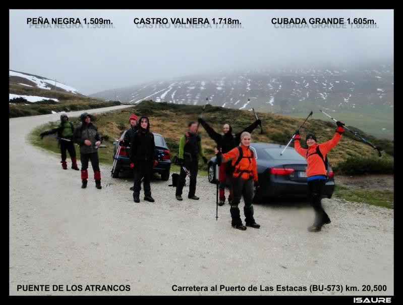 Castro Valnera 1.718m. Peña Negra 1.509m. y Cubada Grande 1.605m. DSC07145