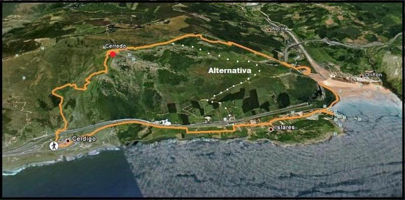 Pico Cerredo 643m. desde Cerdigo DSC00652