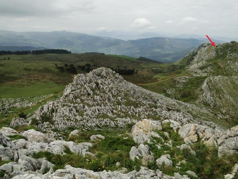 Pico Cerredo 643m. desde Cerdigo DSC00765