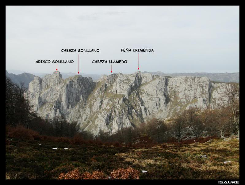 Peña Main 1.605m. desde Tielve DSC07252