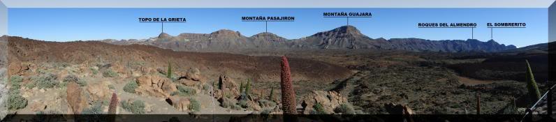 Montaña Guajara 2.718m. (Tenerife) 2