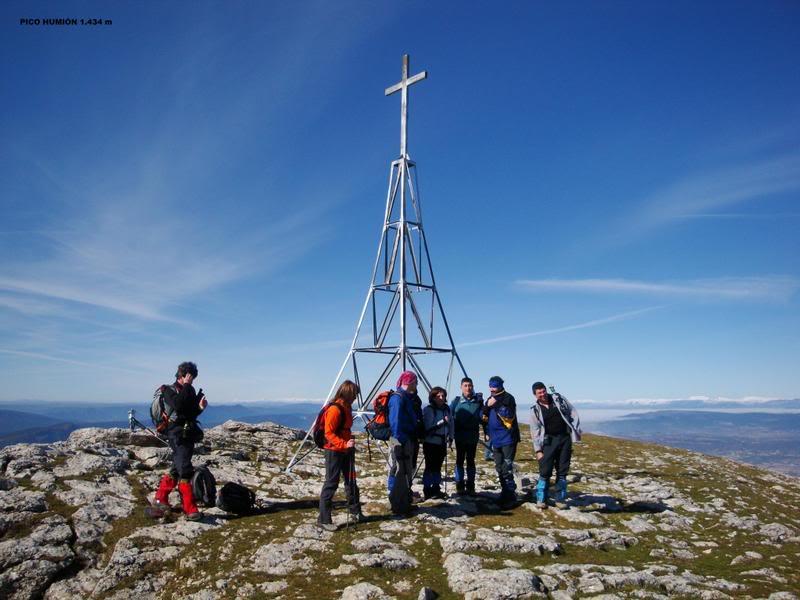 Pico Humión 1.434m. y Pico Flor  1.340m. HUMIN105