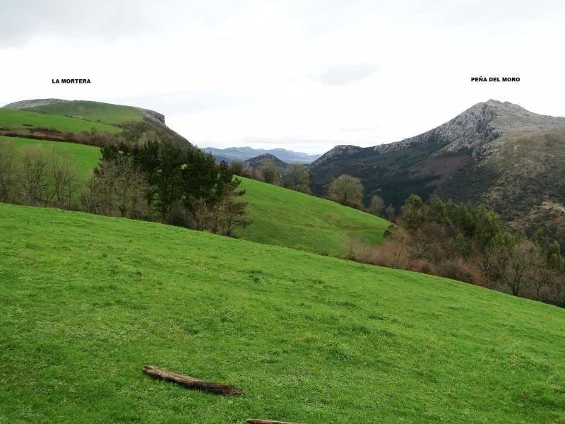 La Mortera 723m. y La Casia 692m. desde Ramales de la Victoria LAMORTERA029