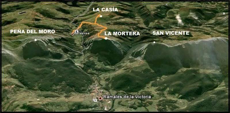 La Mortera 723m. y La Casia 692m. desde Ramales de la Victoria LAMORTERA178