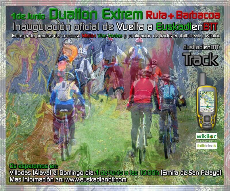 Inauguración Oficial Vuelta a EuskadienBTT Inauguracion