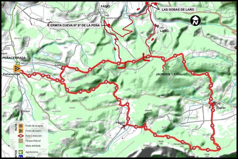 Monte Jauden 1.038m. desde Peñacerrada DSC09044