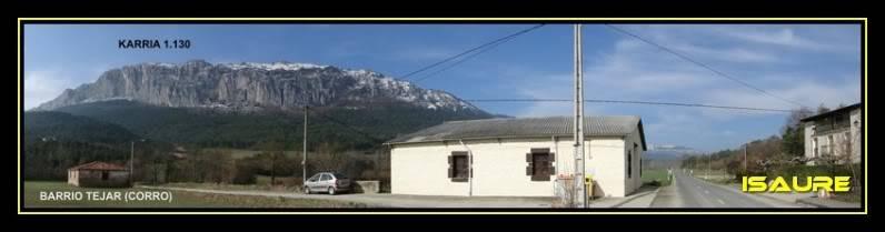 Peña Karria 1.130m. Por el Frontal de Las Tablas DSC09511