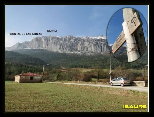 Peña Karria 1.130m. Por el Frontal de Las Tablas DSC09512
