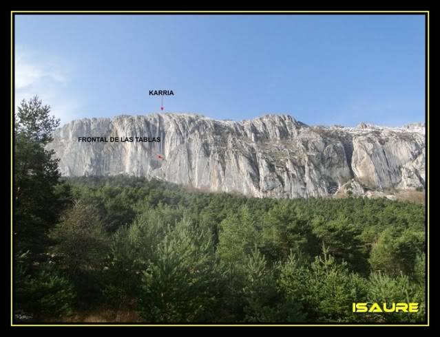 Peña Karria 1.130m. Por el Frontal de Las Tablas DSC09523