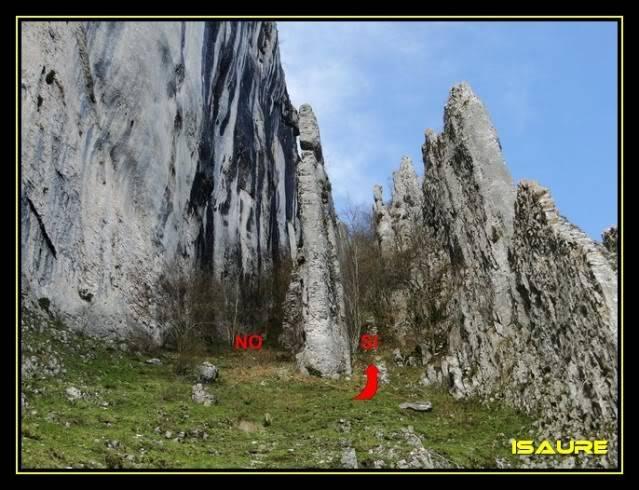 Peña Karria 1.130m. Por el Frontal de Las Tablas DSC09543