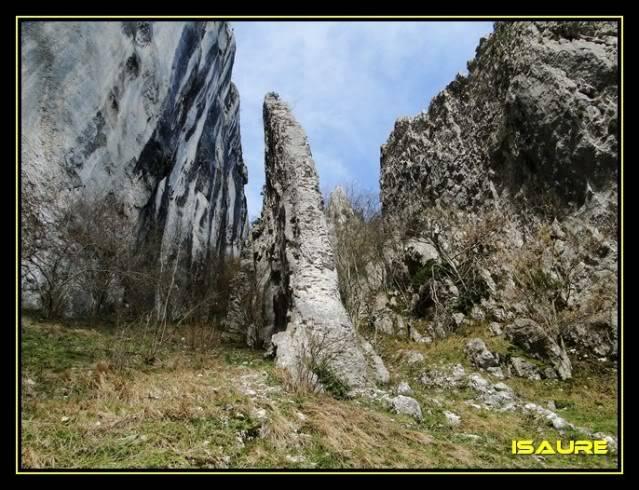 Peña Karria 1.130m. Por el Frontal de Las Tablas DSC09544