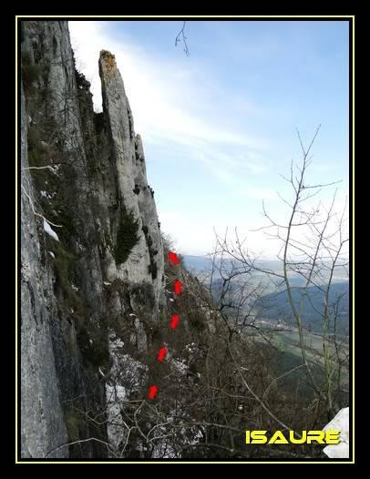 Peña Karria 1.130m. Por el Frontal de Las Tablas DSC09565