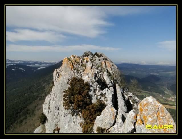 Peña Karria 1.130m. Por el Frontal de Las Tablas DSC09578