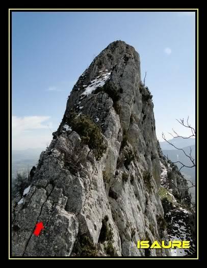 Peña Karria 1.130m. Por el Frontal de Las Tablas DSC09579