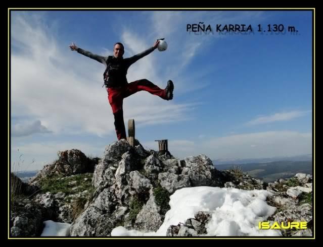 Peña Karria 1.130m. Por el Frontal de Las Tablas DSC09612