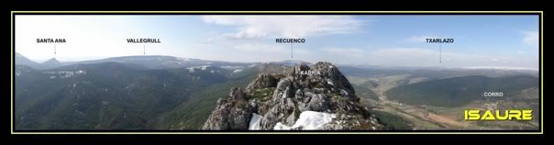 Peña Karria 1.130m. Por el Frontal de Las Tablas DSC09615