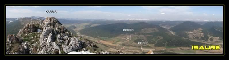 Peña Karria 1.130m. Por el Frontal de Las Tablas DSC09618